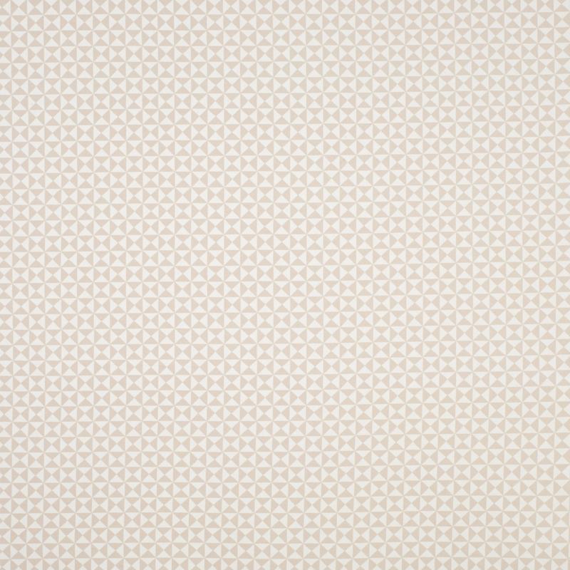 Stoff 'Happy Dreams' Dreiecke beige