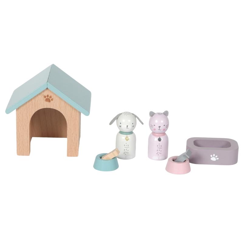 Puppenhausmöbel 'Haustiere' ab 3 Jahren