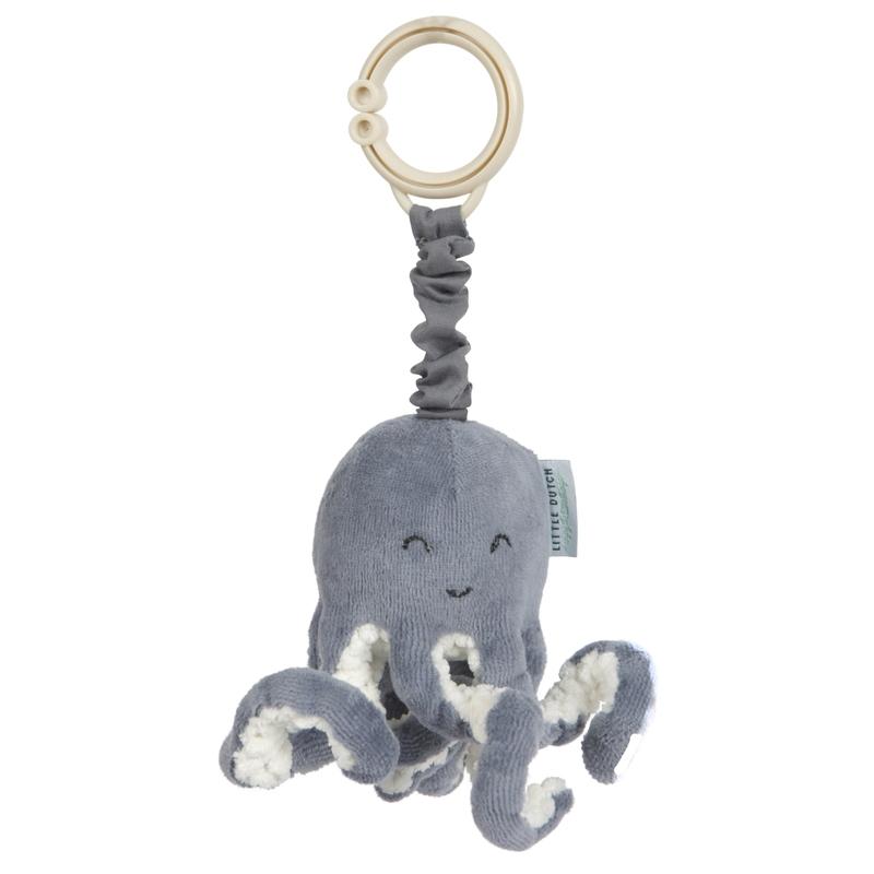 Activity-Spielzeug Oktopus 'Ocean' rauchblau