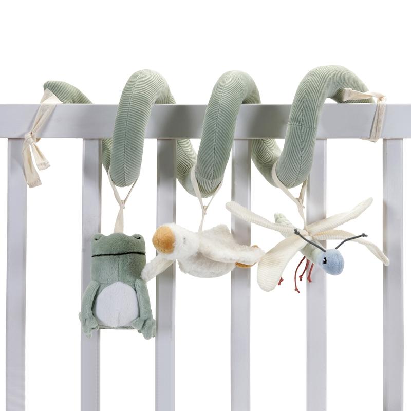 Spielkette 'Kleine Gans' oliv