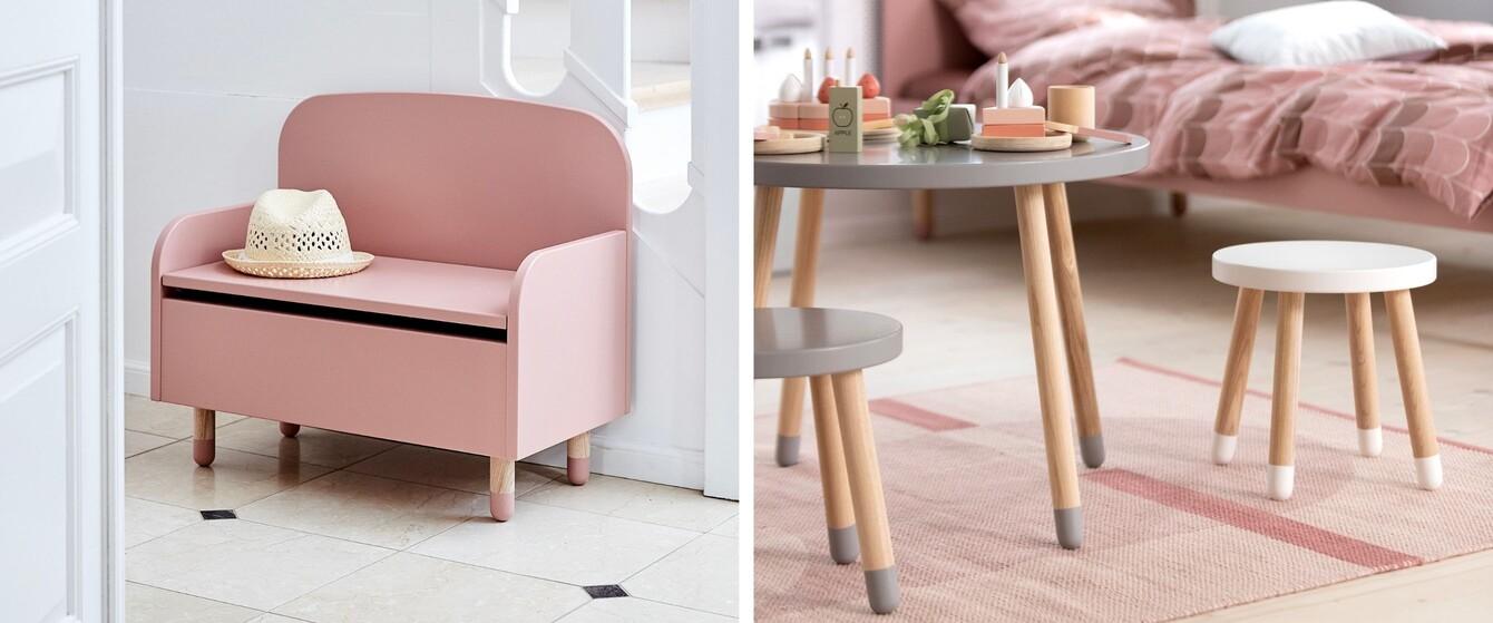 Kindertische, Stühle & Bänke