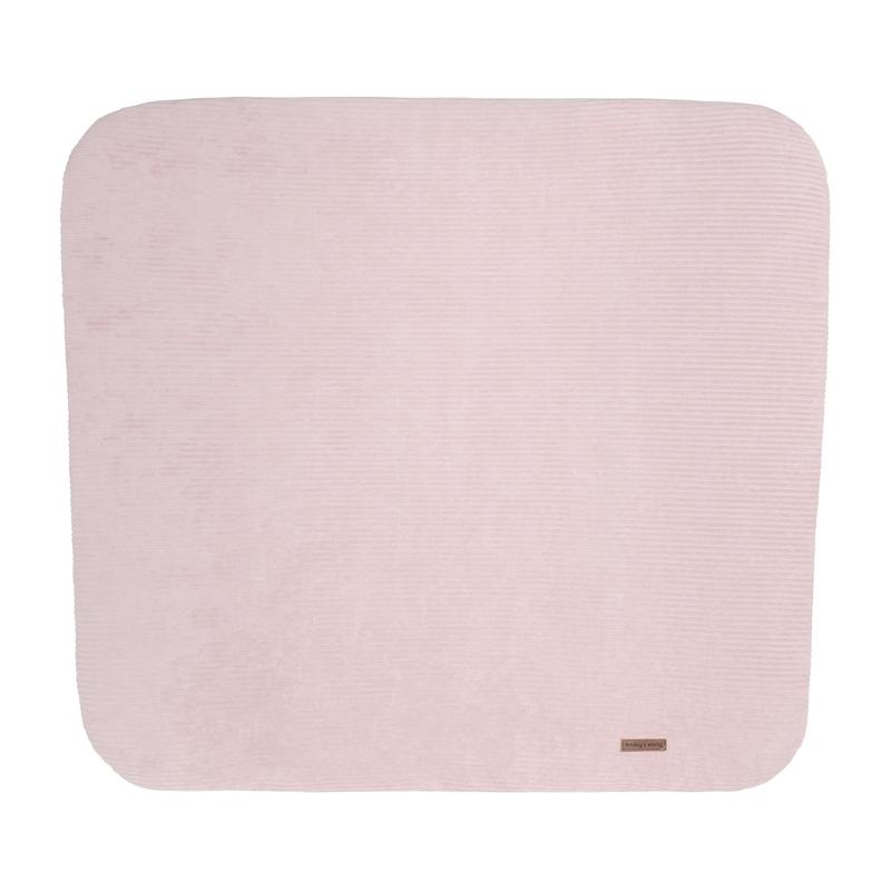 Wickelauflagenbezug 'Sense' Samt rosa