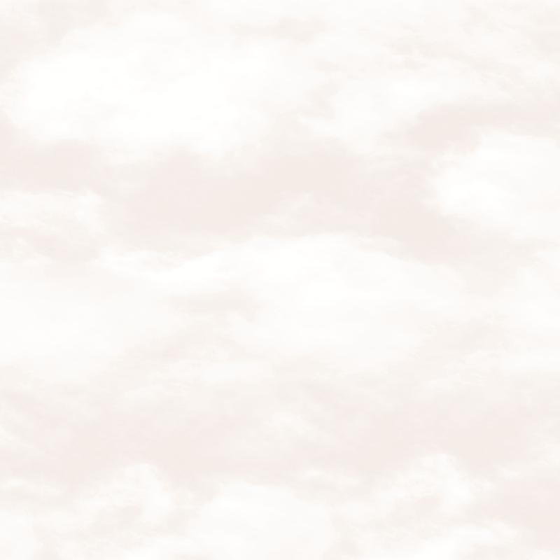 Vliestapete 'Wolken' creme/weiß