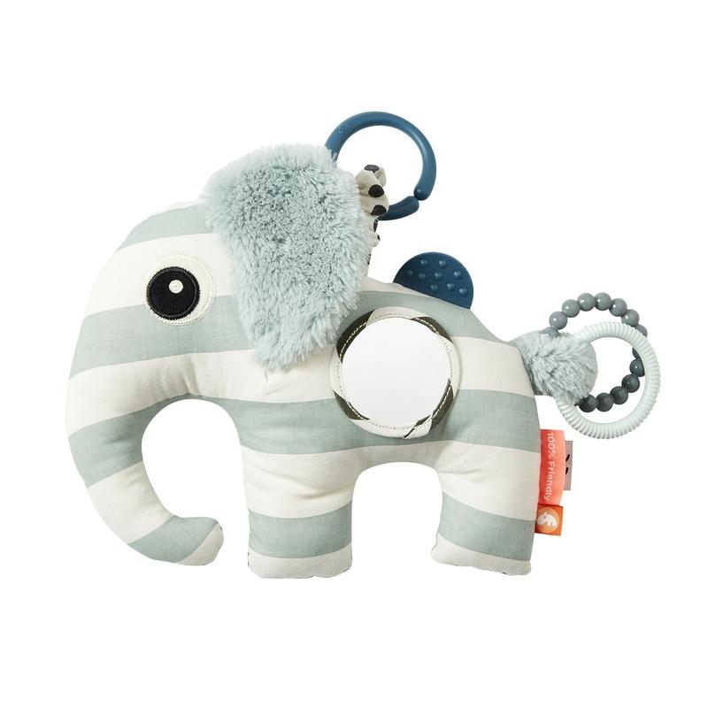 Activity-Spielzeug 'Elphee Elefant' softblau