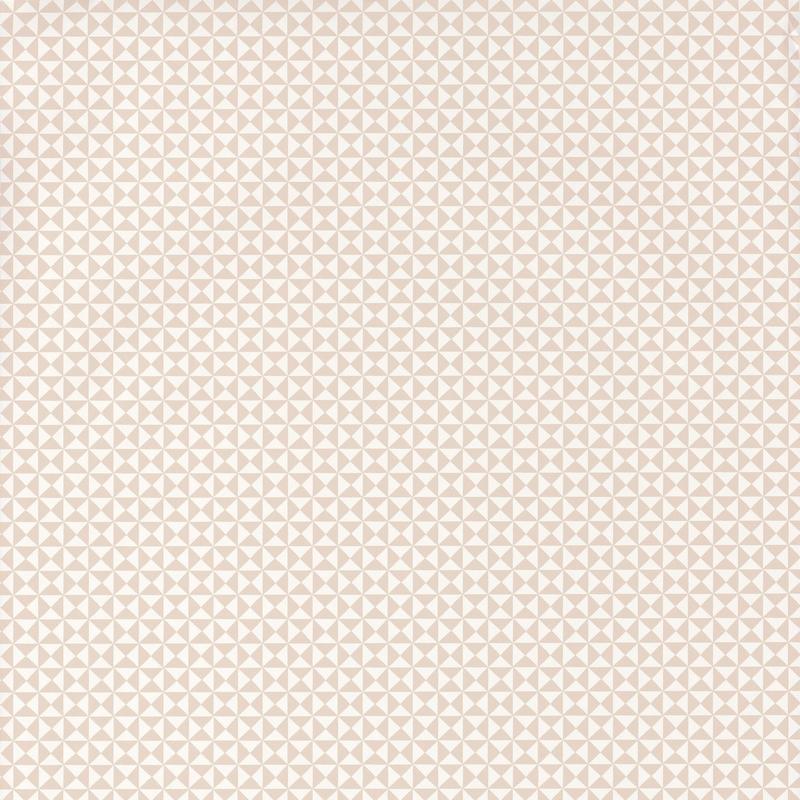Tapete 'Happy Dreams' Dreiecke beige