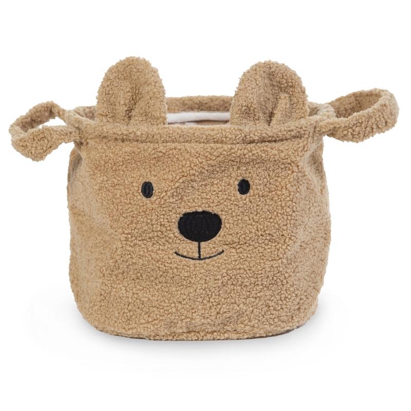 Teddy-Aufbewahrungskorb 'Bär' braun 20cm