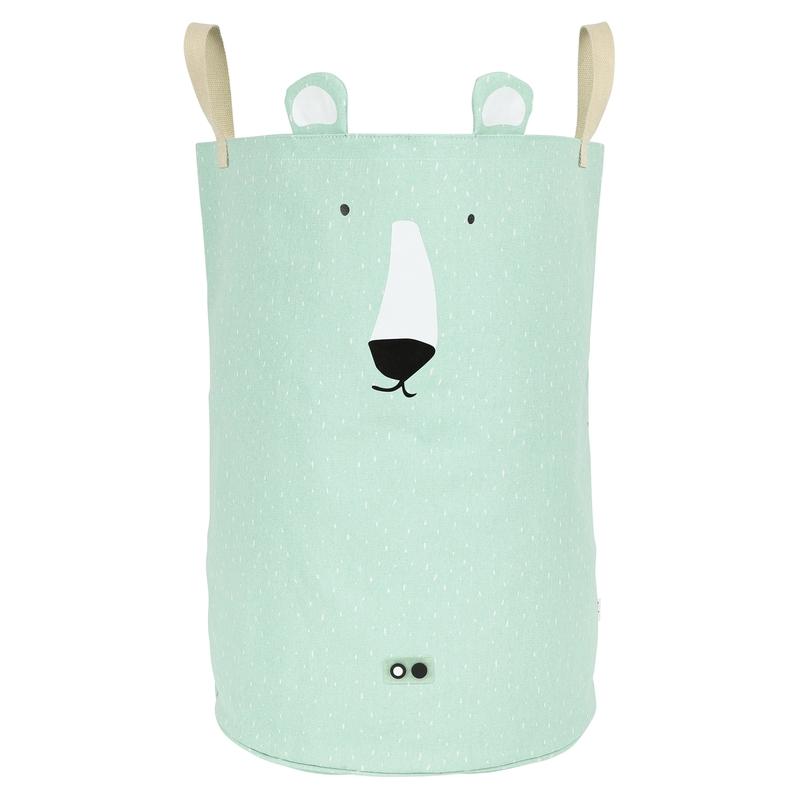 Aufbewahrungskorb 'Eisbär' mint 60cm