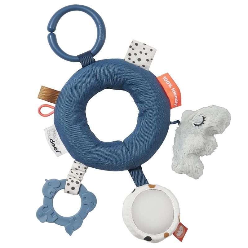 Activity-Ring 'Nilpferd Ozzo' blau