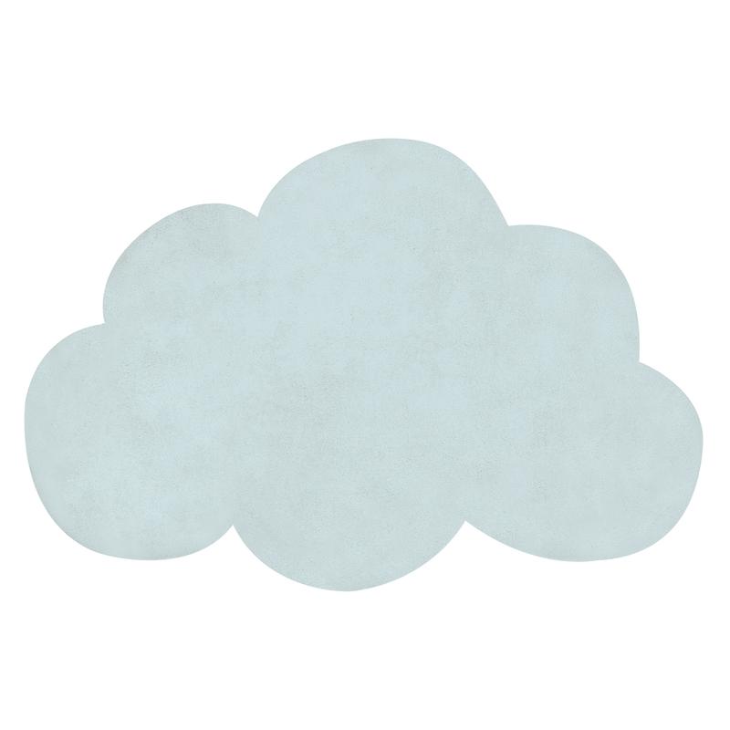 Kinderteppich 'Wolke' softmint ca. 64x100cm