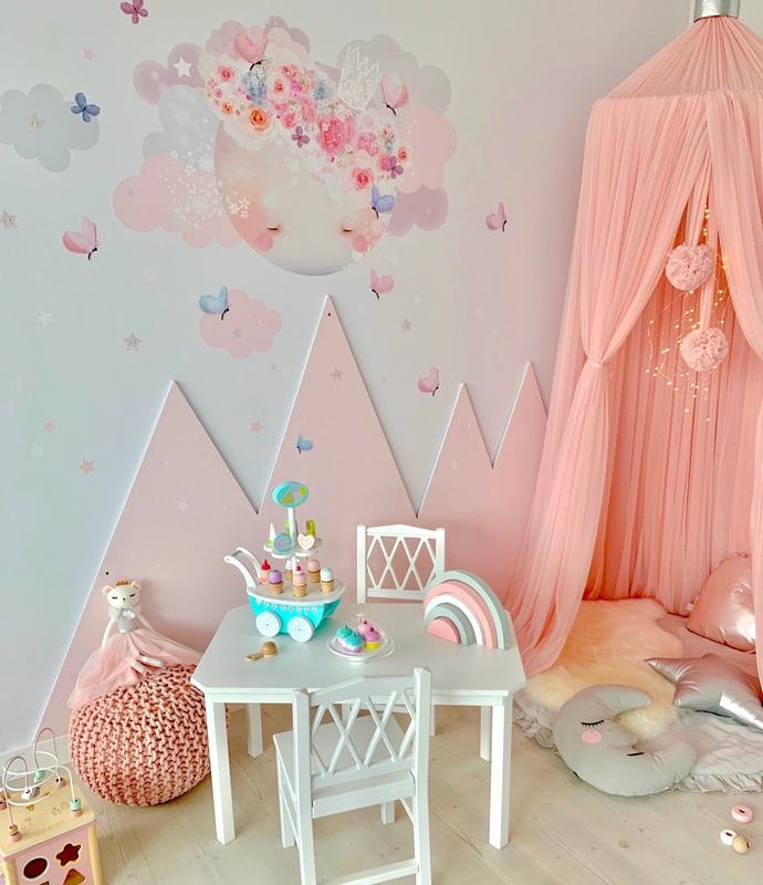 Spielzimmer mit Prinzessinnen Kuschelecke