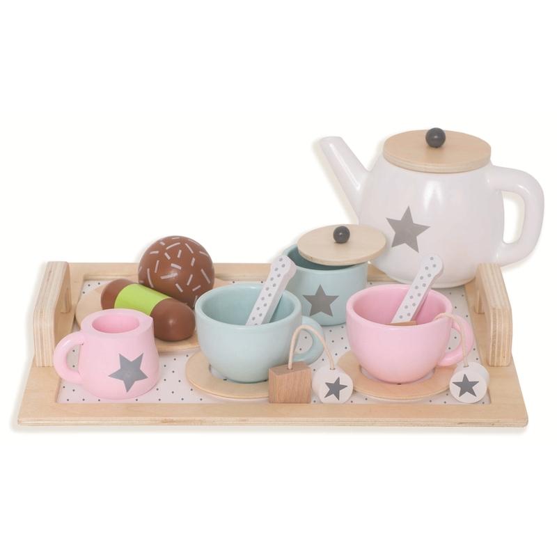 Tee-Set 'Sternchen' pastell 15-tlg. ab 3 Jahren