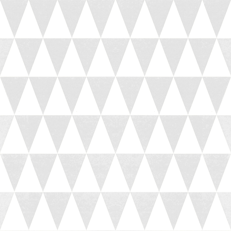 Vliestapete 'Dreiecke' hellgrau/weiß