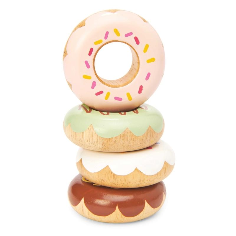 Donuts aus Holz handbemalt ab 2 Jahren