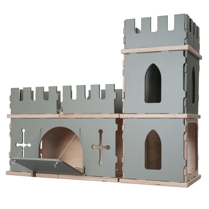 Puppenhaus-Erweiterung 'Burg' ab 3 Jahren