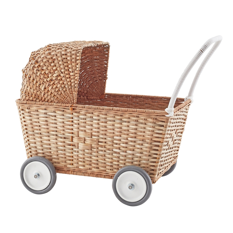 Korb Puppenwagen natur ab 18 Monaten