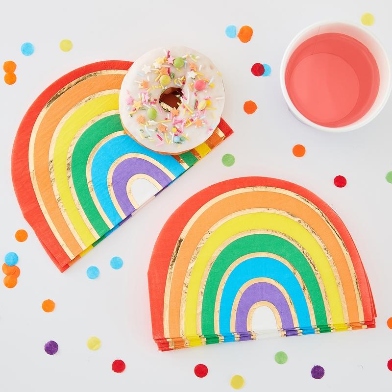 Papierservietten 'Over the Rainbow' 16 St.