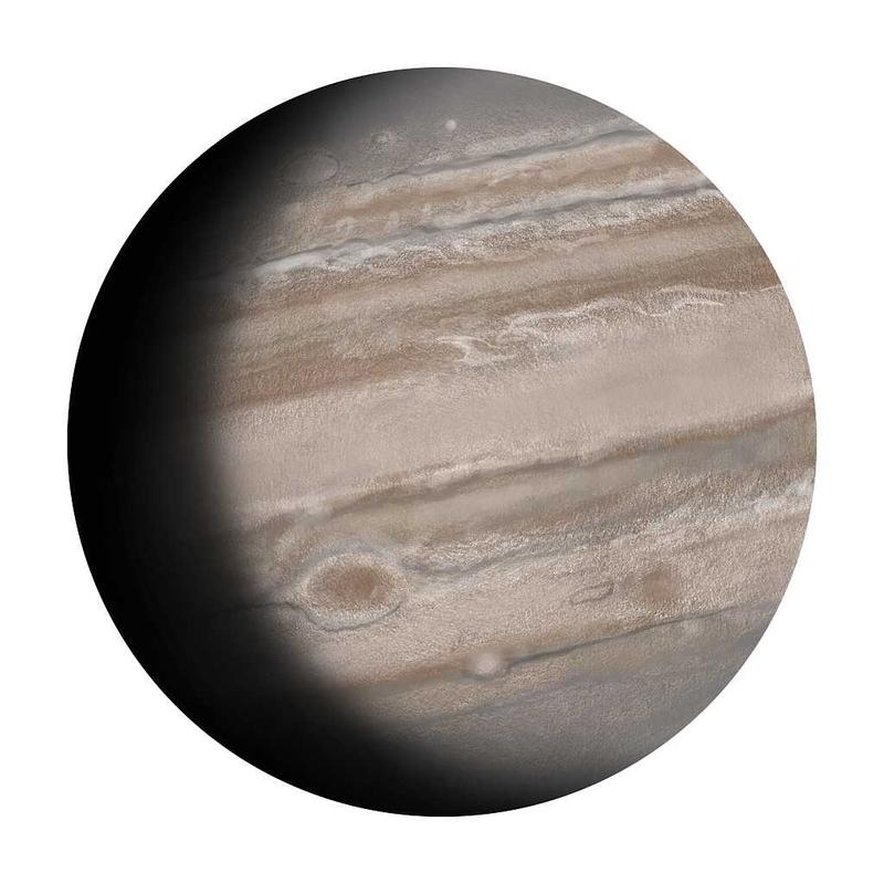Wandsticker 'Jupiter' handgezeichnet