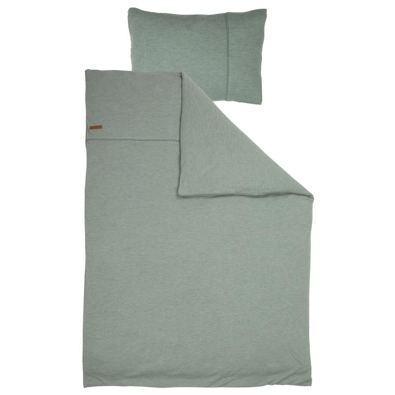 Bettwäsche 'Pure' jade 100x140cm