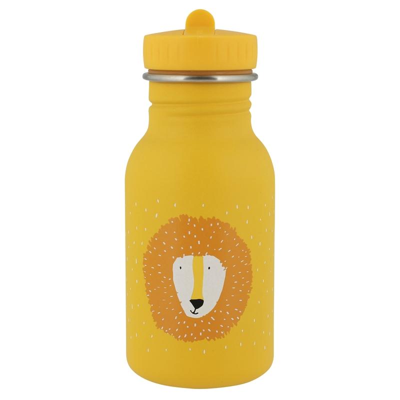 Trinkflasche 'Löwe' Edelstahl senfgelb 350ml
