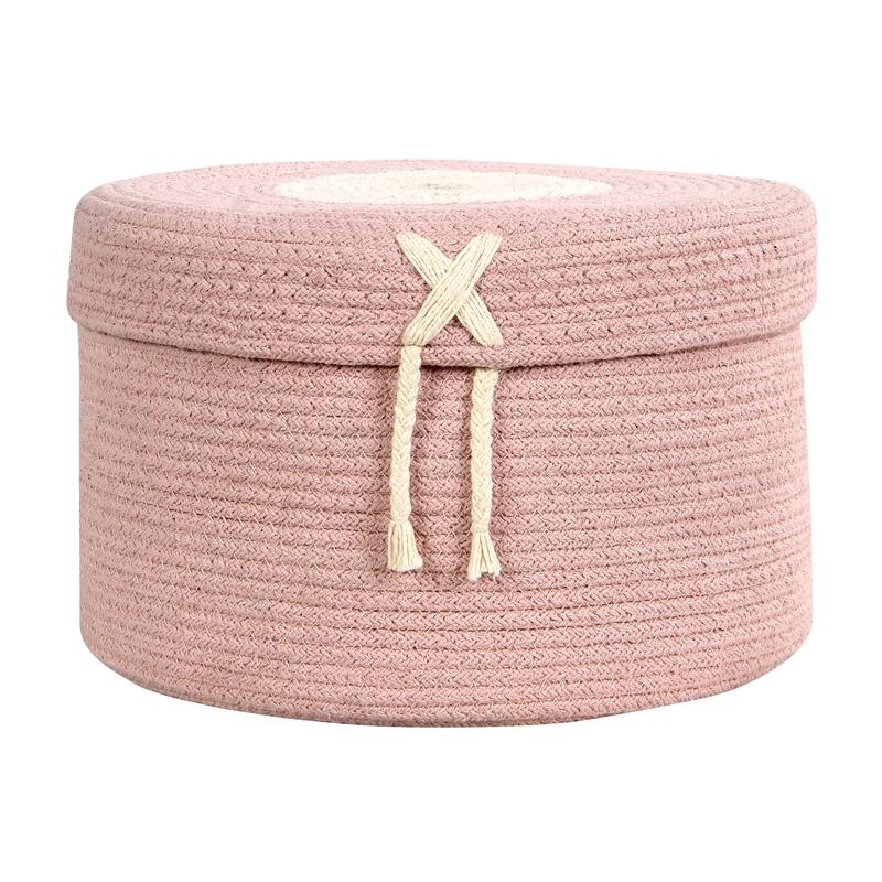 Aufbewahrungskorb 'Candy' rosa 30cm