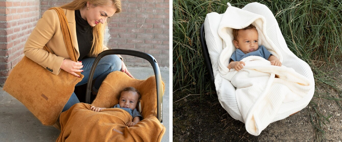 Bezug & Dach für die Babyschale