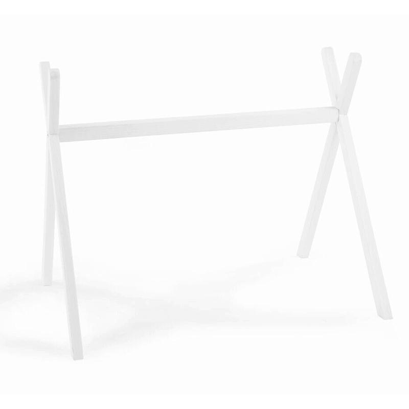 Spielbogen 'Tipi' aus massiver Buche weiß