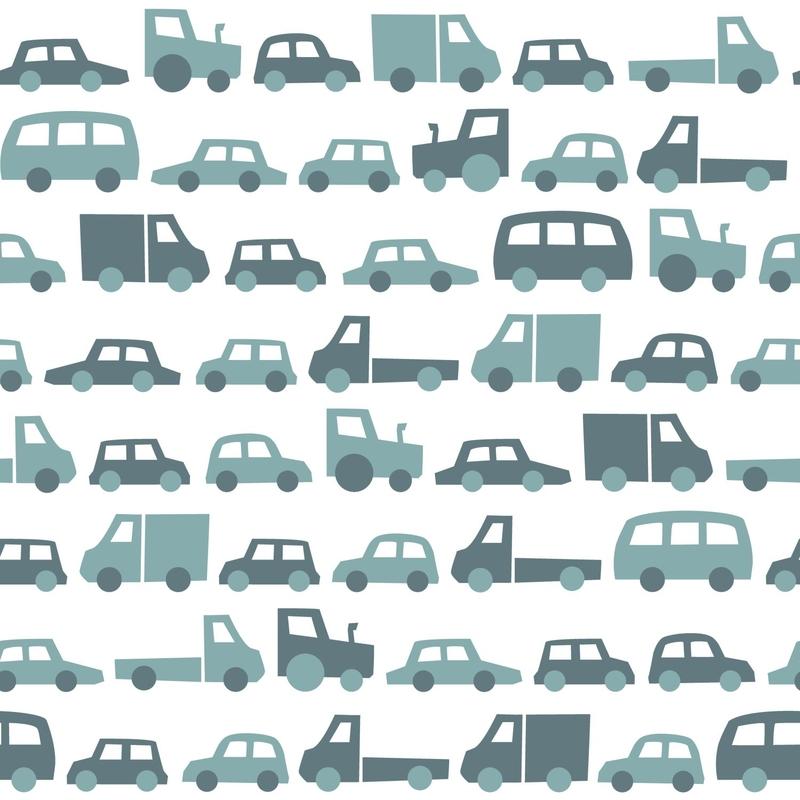 Vliestapete 'Autos & Fahrzeuge' petrol
