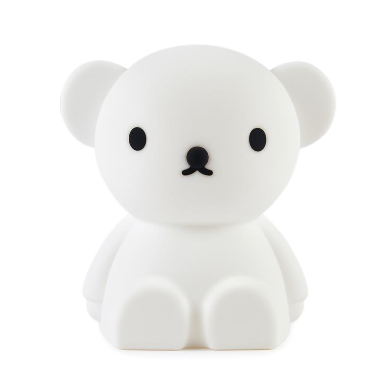 Nachtlicht 'Bär Boris' Silikon weiß 10cm