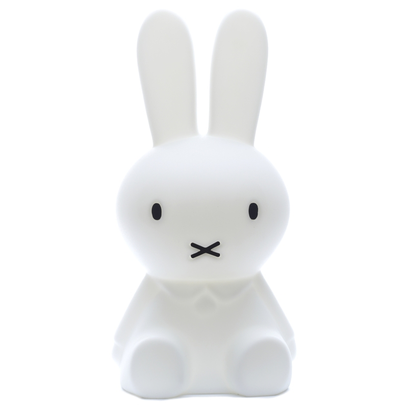 XL Lampe Hase 'Miffy' LED weiß ca. 80cm