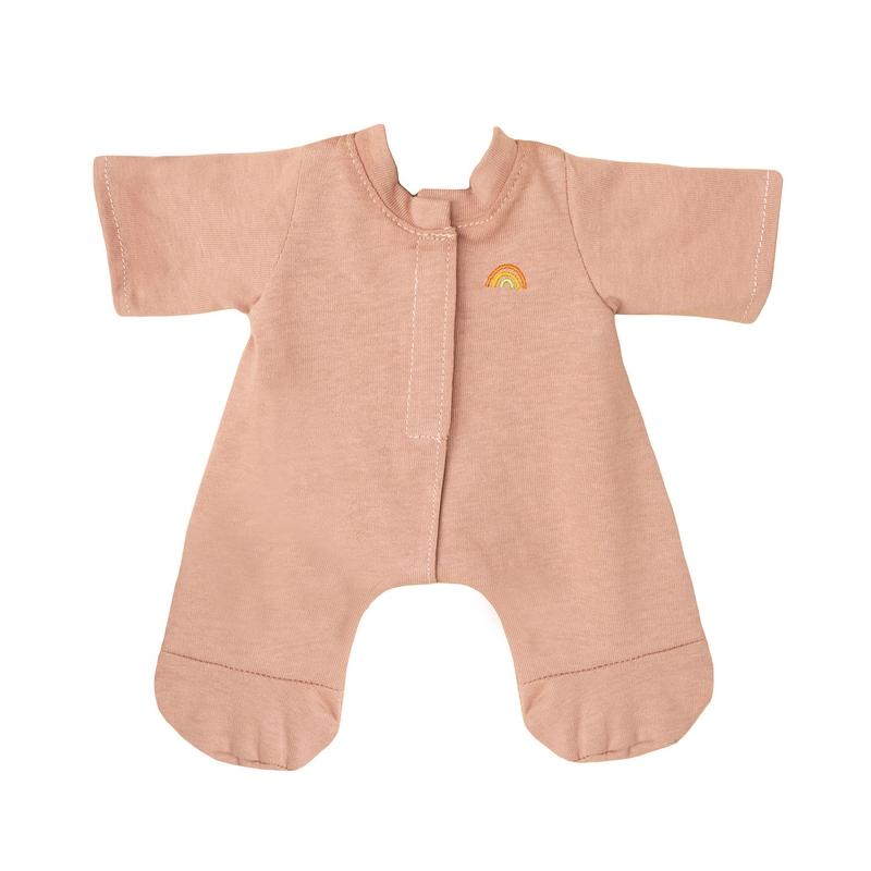 Schlafanzug für Dinkum Dolls altrosa