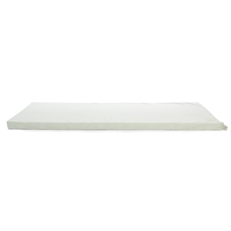 Spielmatratze 'White Bubble' mint 60x120cm