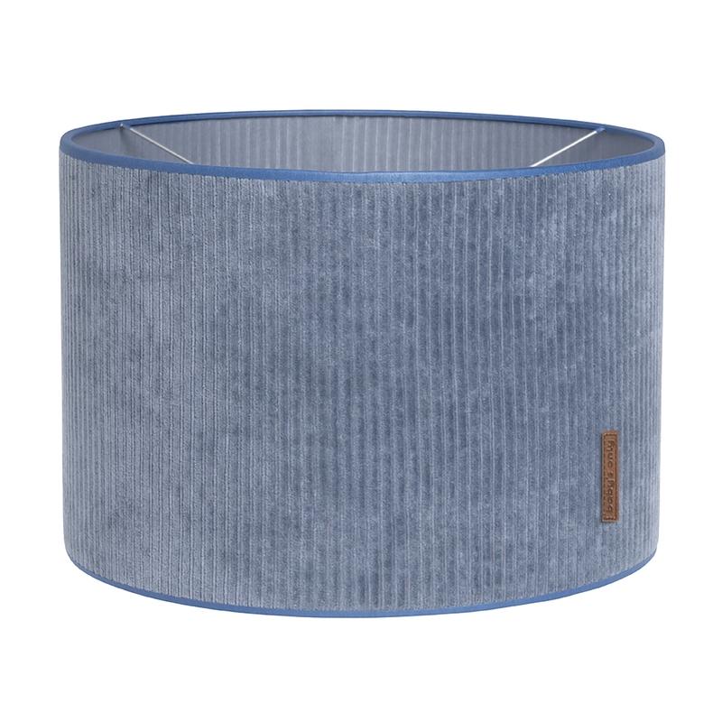 Hängelampe 'Sense' Samt blau 30cm