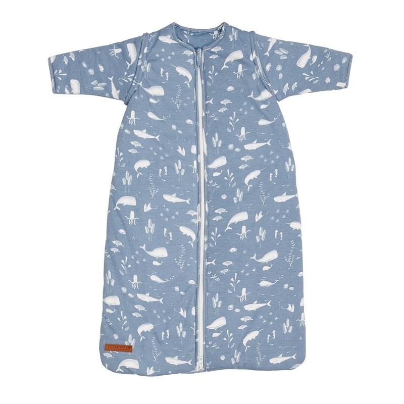 Baby Winterschlafsack 'Ocean' rauchblau