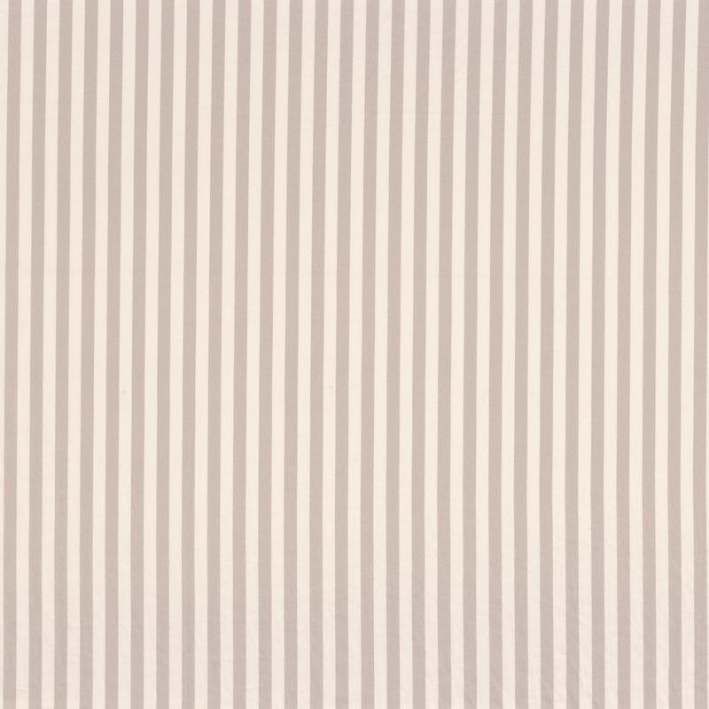 Stoff 'Rose & Nino' Streifen warmgrau