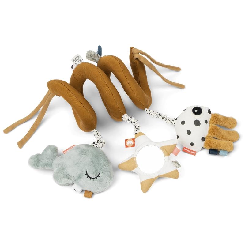Spielkette 'Wal & Oktopus' camel