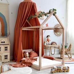 Kinderzimmer terra, rost