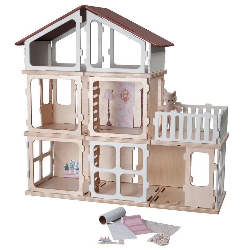 Puppenhaus-Erweiterung 'Villa' ab 3 Jahren