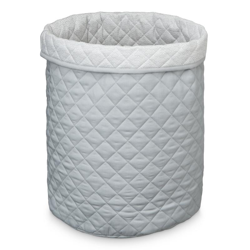 XL-Aufbewahrungskorb 'Wave' grau 55cm
