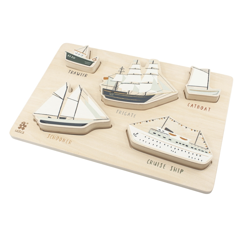 Holzpuzzle 'Seven Seas' ab 1 Jahr