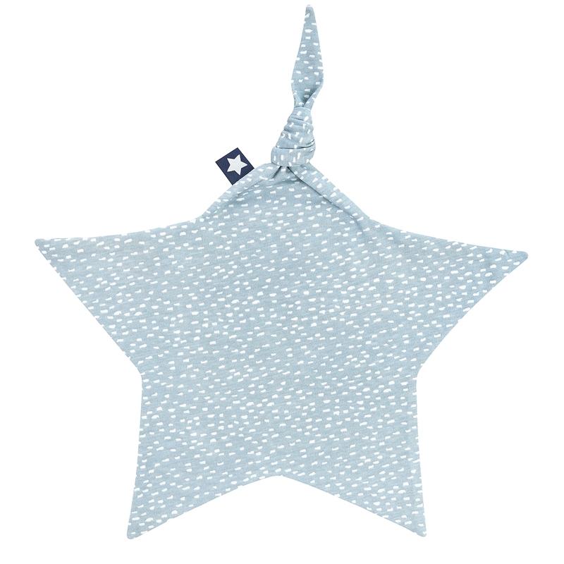 Schnuffeltuch 'Sprinkles' Jersey blaugrün