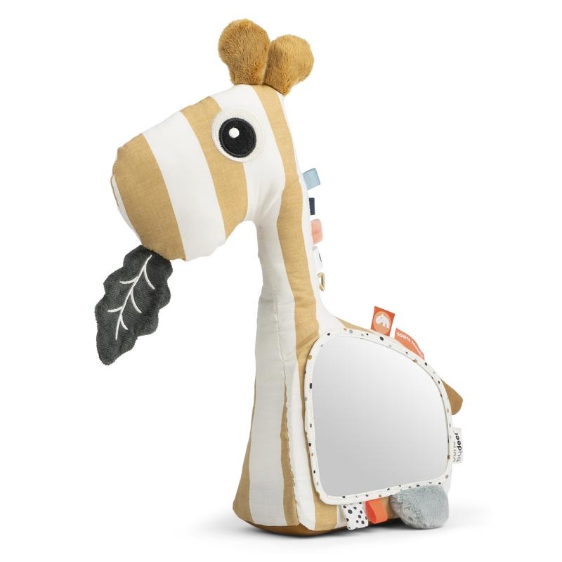 Bodenspiegel 'Giraffe Raffi' senfgelb 38cm