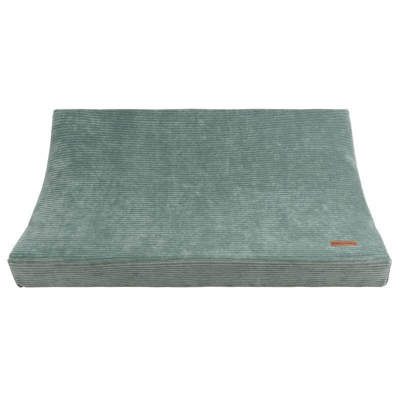 Wickelauflagenbezug 'Sense' Samt jade 45x70cm