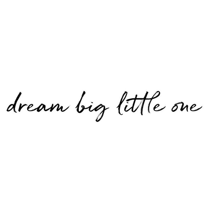 Wandsticker 'Dream big little one' handgezeichnet