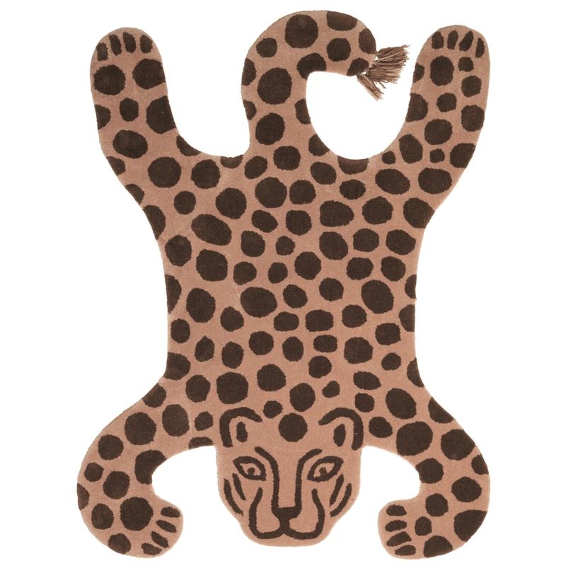 Teppich 'Leopard' camel ca. 118x160cm