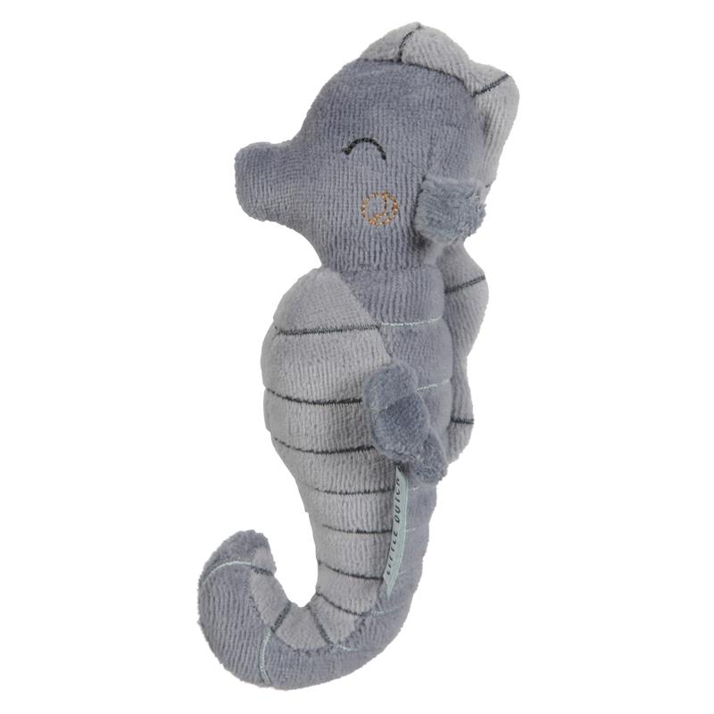 Babyrassel 'Ocean' Seepferdchen rauchblau