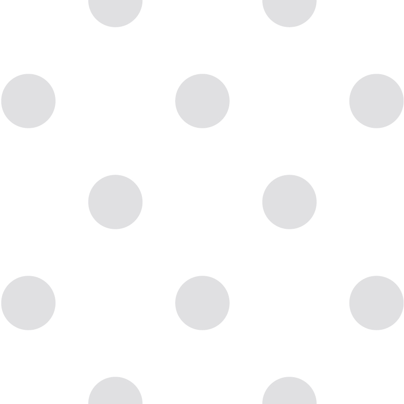 Kindertapete 'XL Punkte' weiß/hellgrau