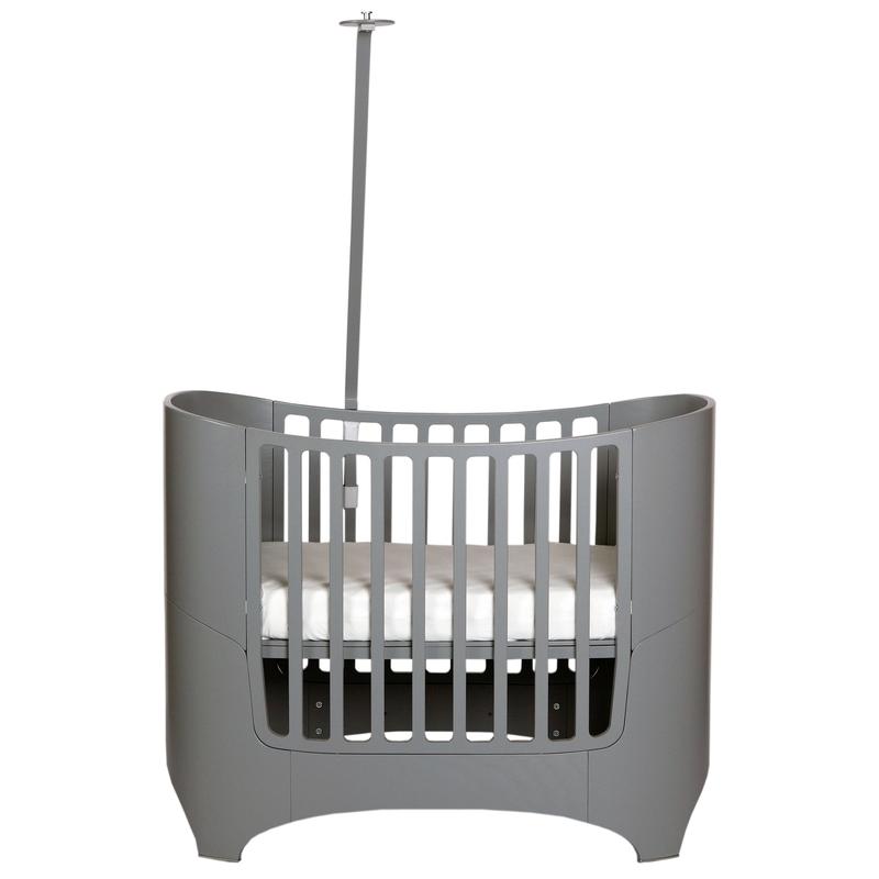 Himmelhalter für Babybett 'Classic' grau