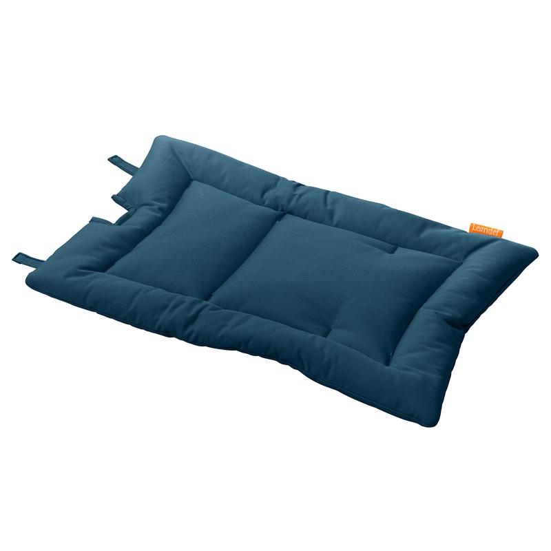 Sitzkissen für Hochstuhl dunkelblau 50X30cm