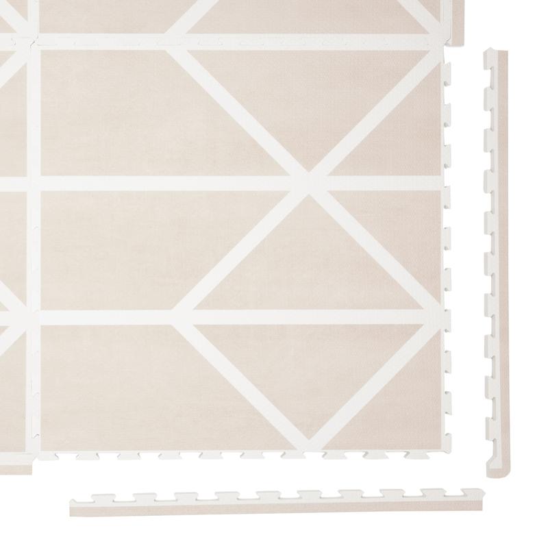 Spielmatte 'Nordic' beige 120x180cm