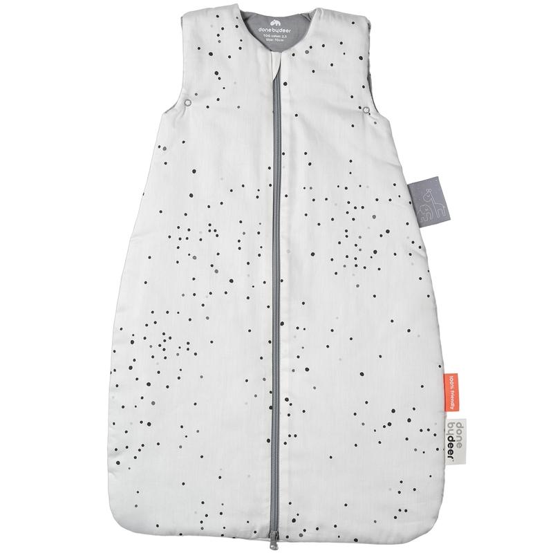 Schlafsack 'Dreamy Dots' grau 90cm